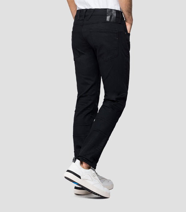 Replay Hyperflex Re-Used Jeans - Black