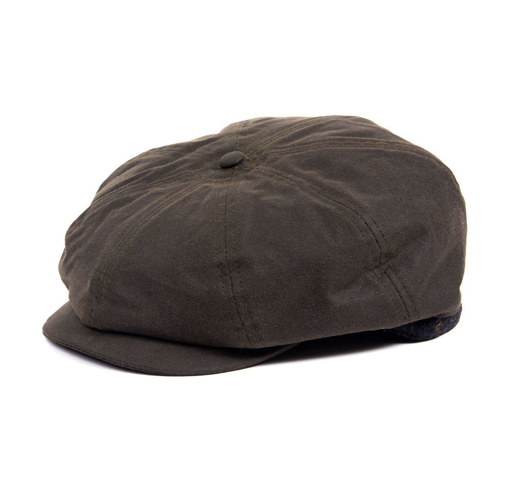 Barbour Guillemot Baker Boy Hat
