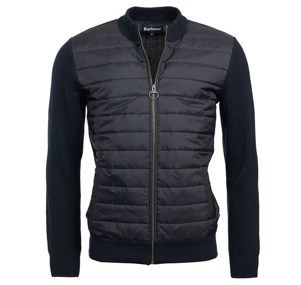 Barbour Carn Baffle Knit - Navy