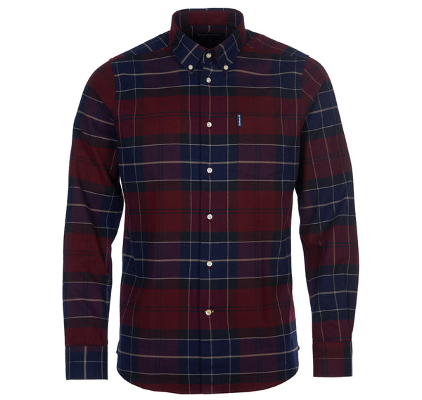 Barbour Lustleigh Check Shirt - Merlot