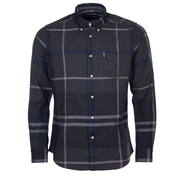 Barbour Dunoon Check Shirt - Graphite Tartan