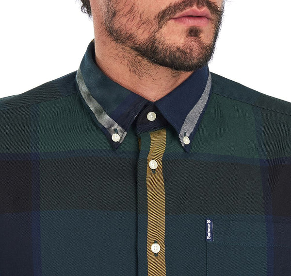 Barbour Dunoon Check Shirt - Seaweed Tartan