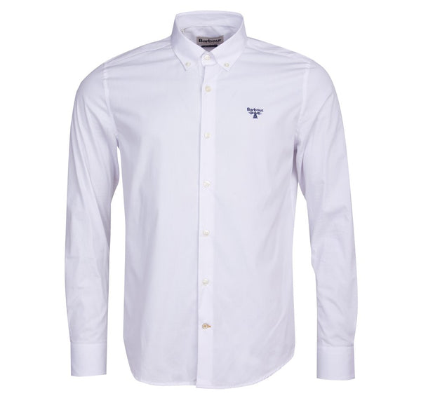 Barbour Beacon Seathwaite Long Sleeve Shirt - White
