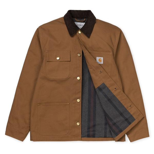Carhartt Michigan Coat - Hamilton Brown (Rigid)