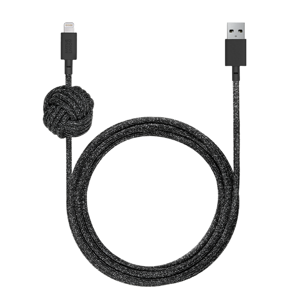 Native Union Night Cable iPhone - Cosmos Black