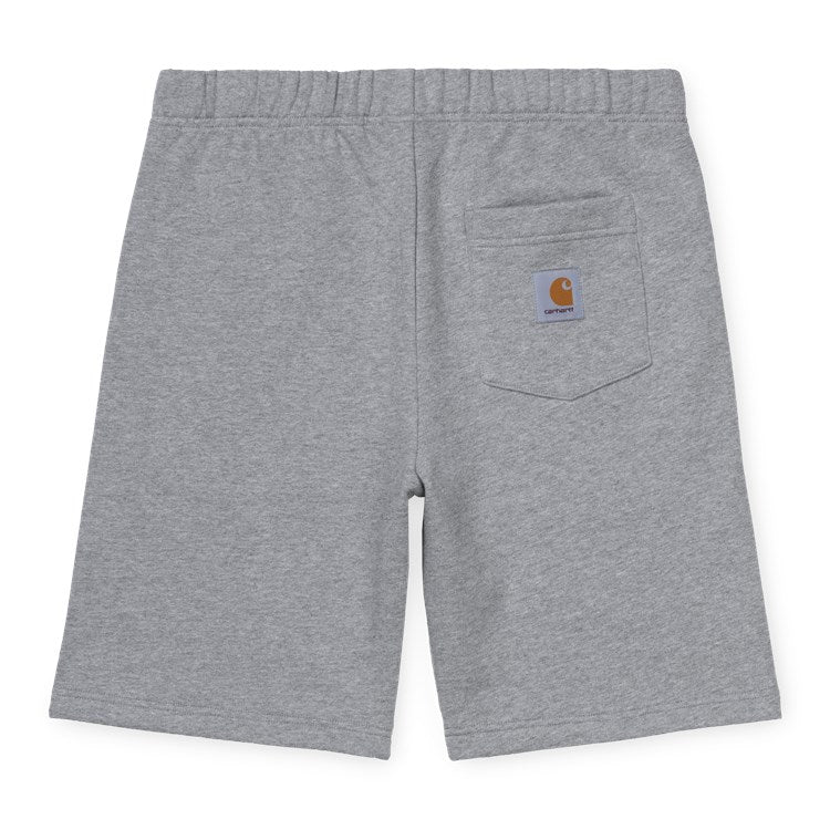 Carhartt Pocket Sweat Shorts - Grey Heather