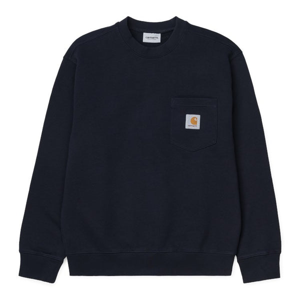 Carhartt Pocket Sweatshirt - Black