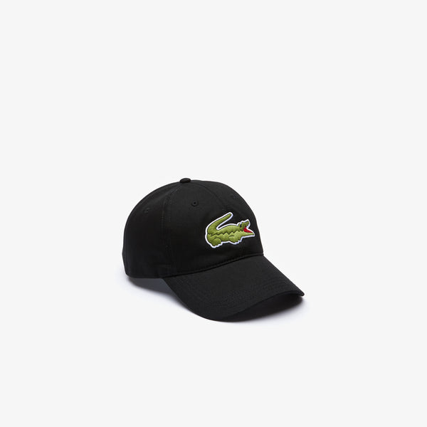 Lacoste Big Croc Cap - Black