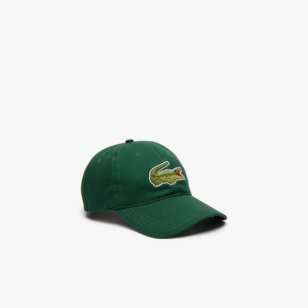 Lacoste Big Croc Cap - Dark Green