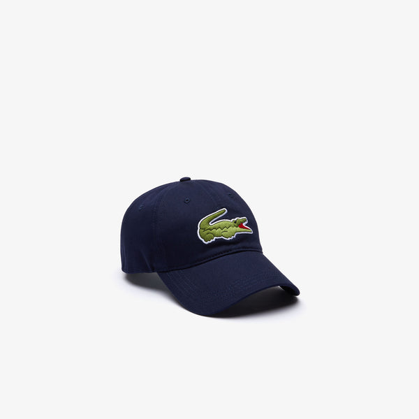 Lacoste Big Croc Cap - Navy