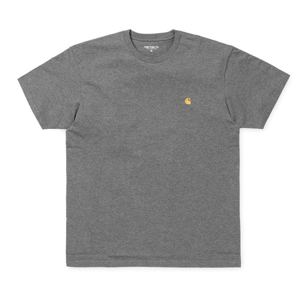 Carhartt Chase T-Shirt - Dark Grey