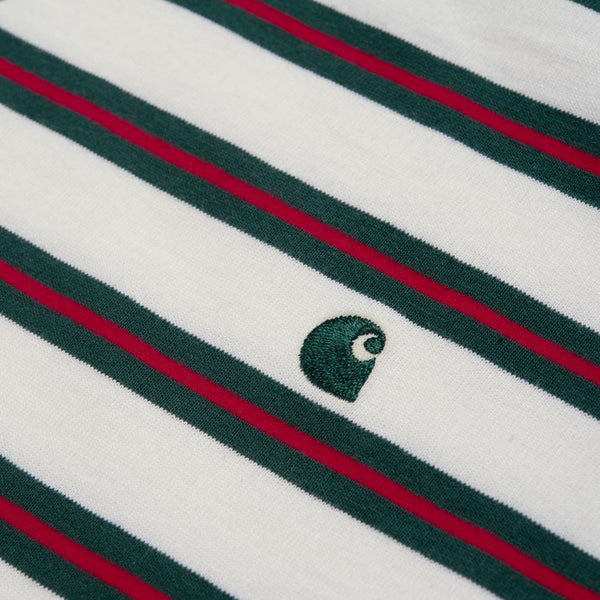 Carhartt Oakland T-Shirt - White/Green/Red