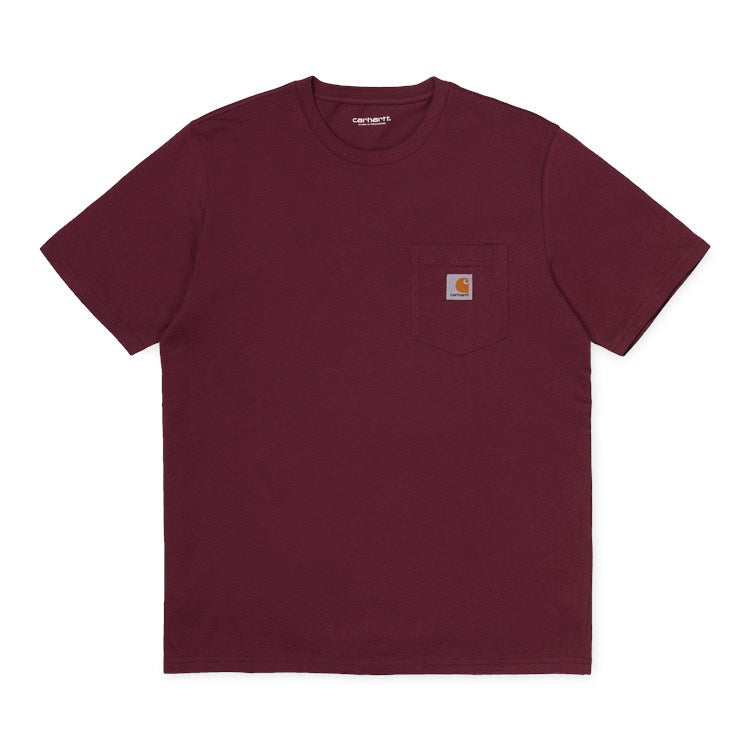 Carhartt Pocket T-Shirt - Bordeaux