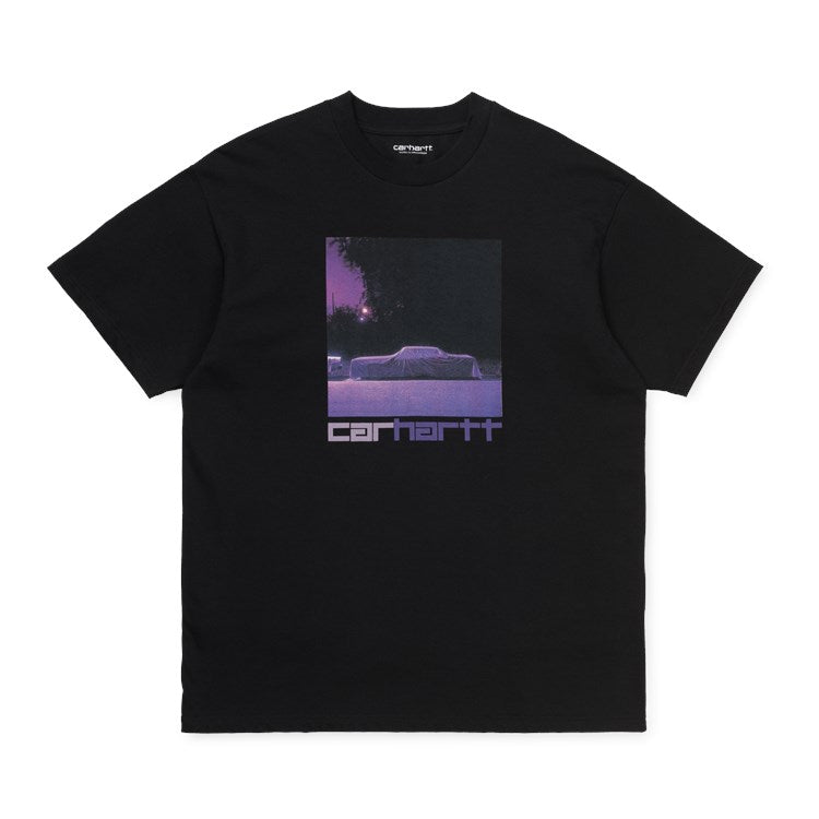 Carhartt WIP Purple Car T-Shirt - Black
