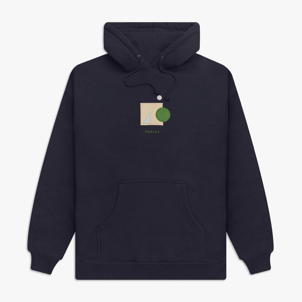 Parlez Saintes Hooded Sweat - Navy