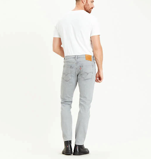 Levi's 512 Slim Tapered Jeans - Steel Grey Stonewash