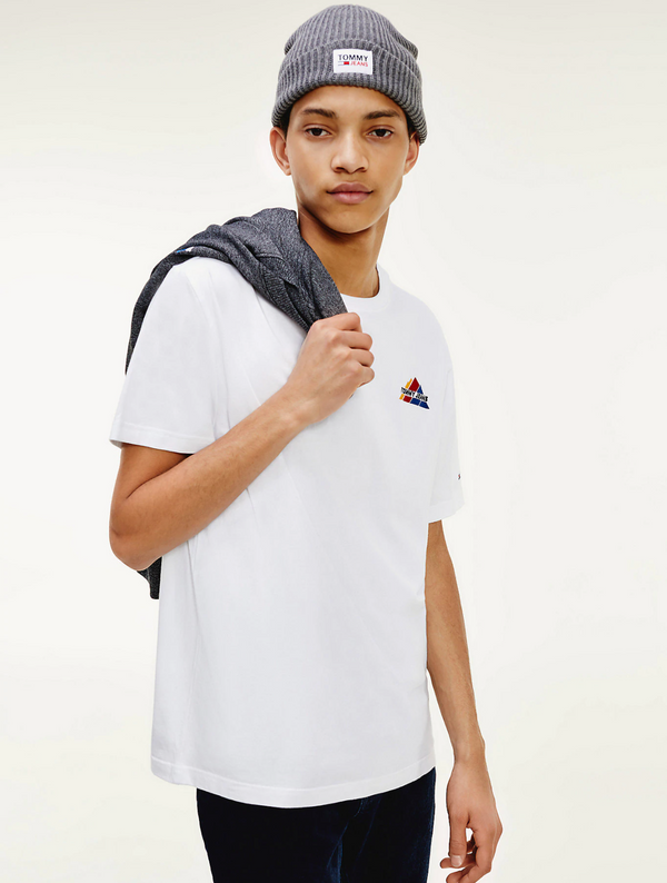 Tommy Jeans Mountain T-Shirt - White