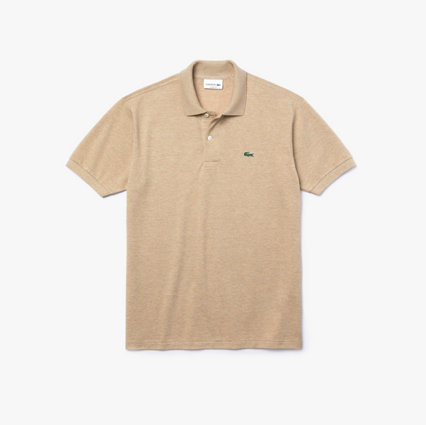 Lacoste Classic L12.12 Polo Shirt - Beige Marl