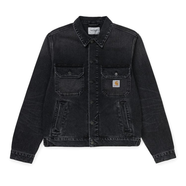 Carhartt Stetson Jacket - Washed Black