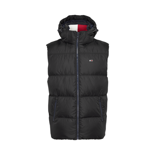 Tommy Jeans Essential Down Gilet - Black