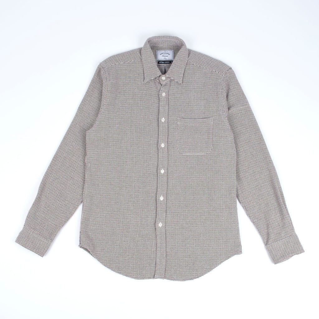 Portuguese Flannel Tricot Shirt - Grey