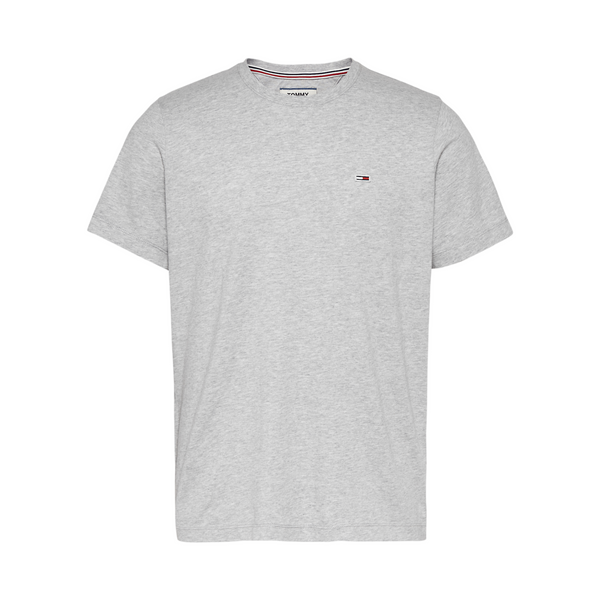 Tommy Jeans Classic Organic T-Shirt - Light Grey Heather
