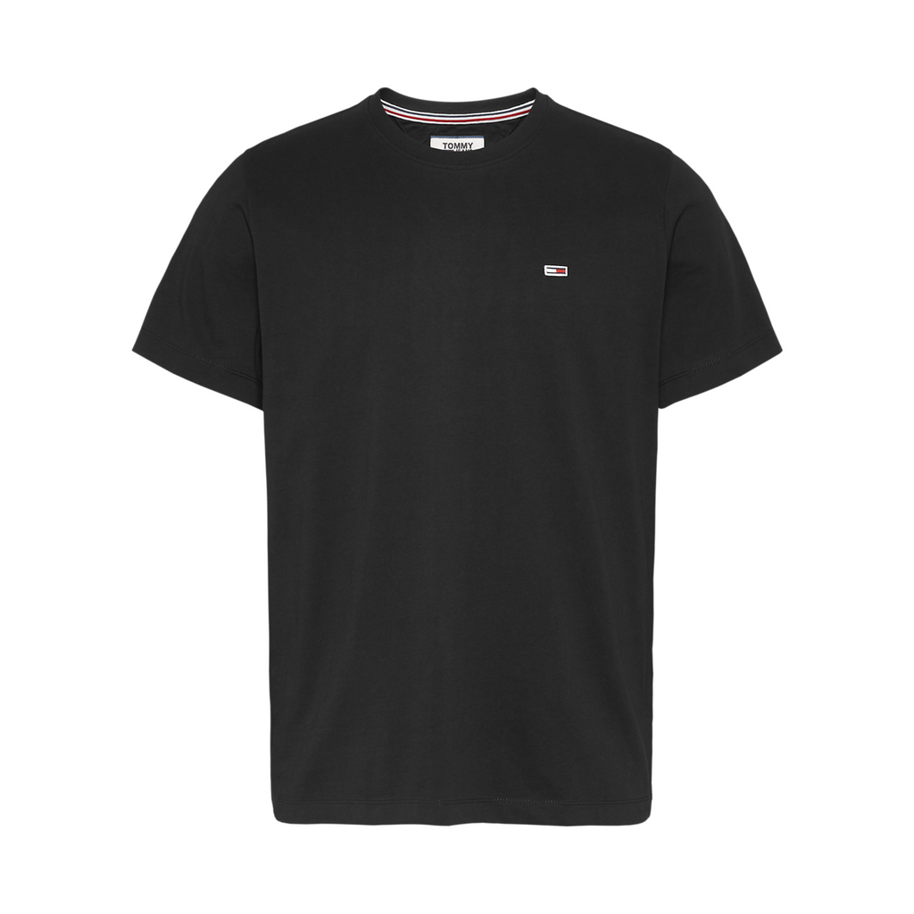 Tommy Jeans Classic Organic T-Shirt - Black