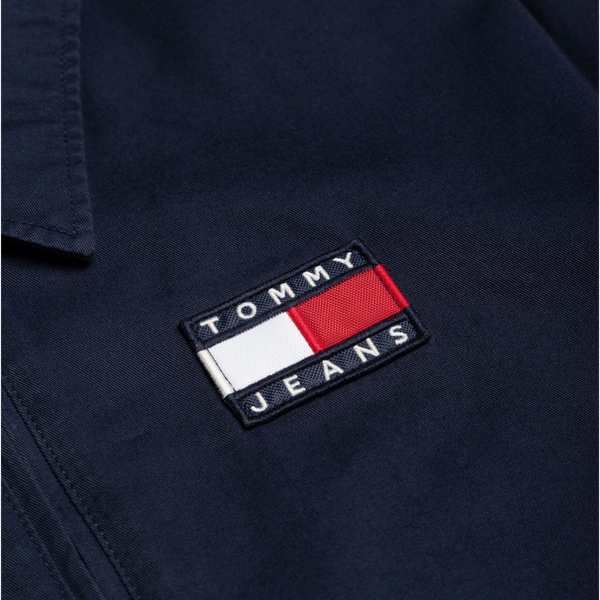 Tommy Jeans Cotton Casual Jacket - Navy