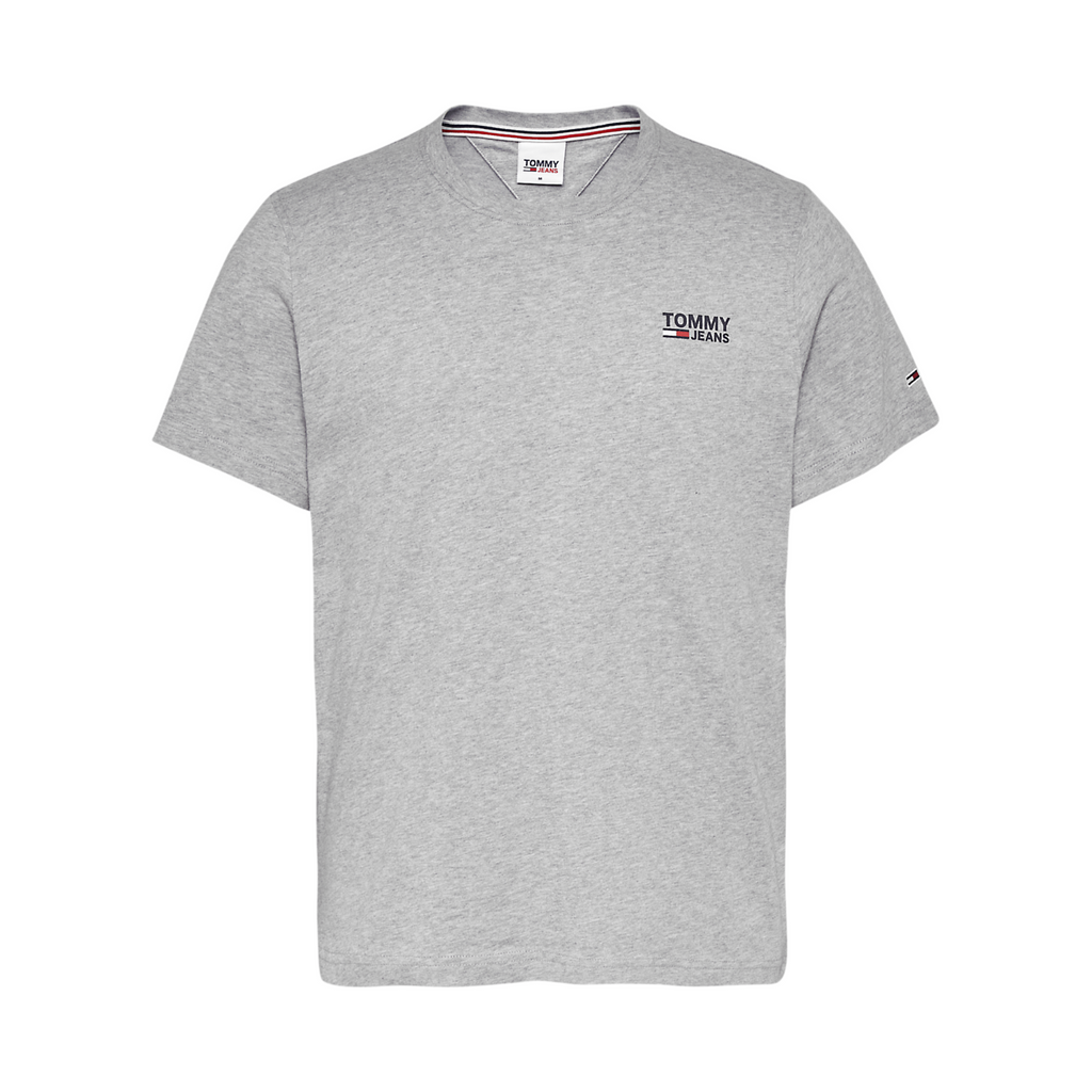 Tommy Jeans Corp Logo T-Shirt - Grey