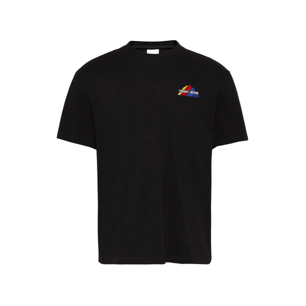 Tommy Jeans Mountain T-Shirt - Black