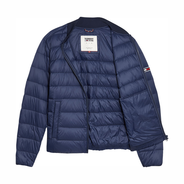 Tommy Jeans Light Down Bomber Jacket - Navy
