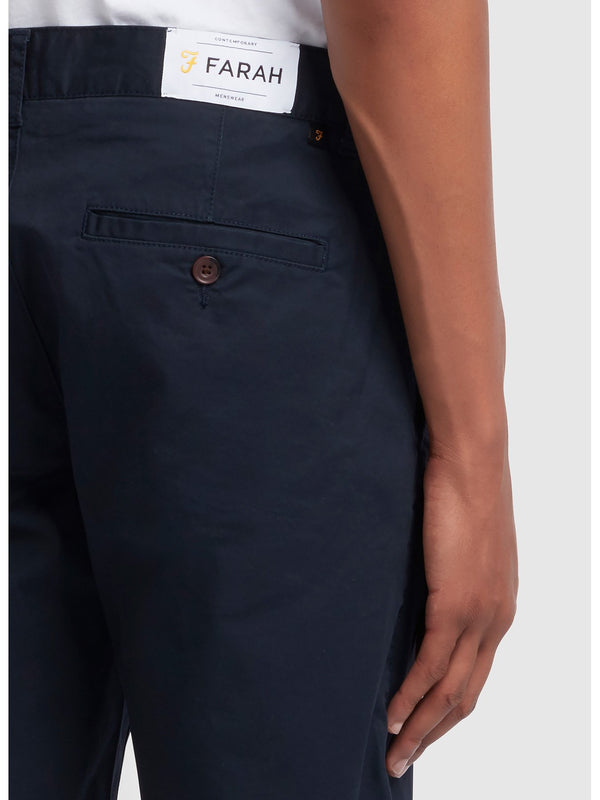 Farah Hawk Chino Short - Navy