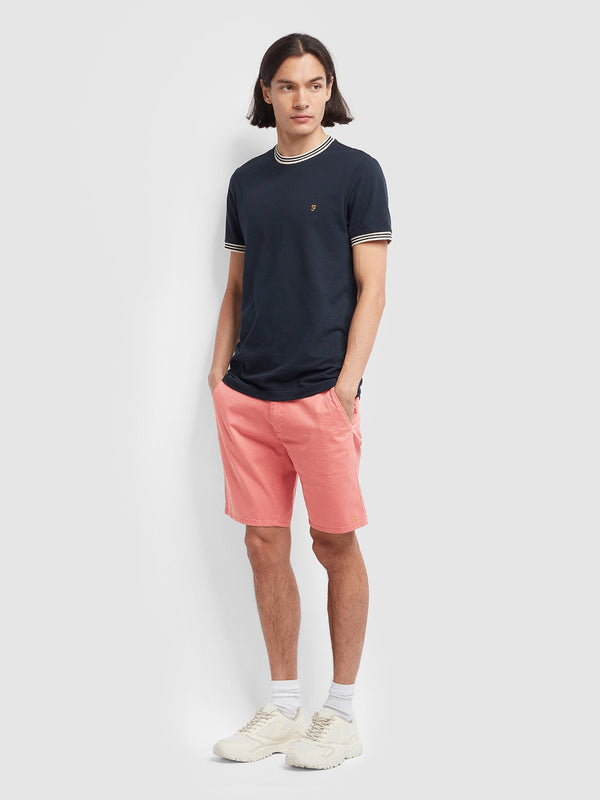 Farah Hawk Chino Short - Jalapeno