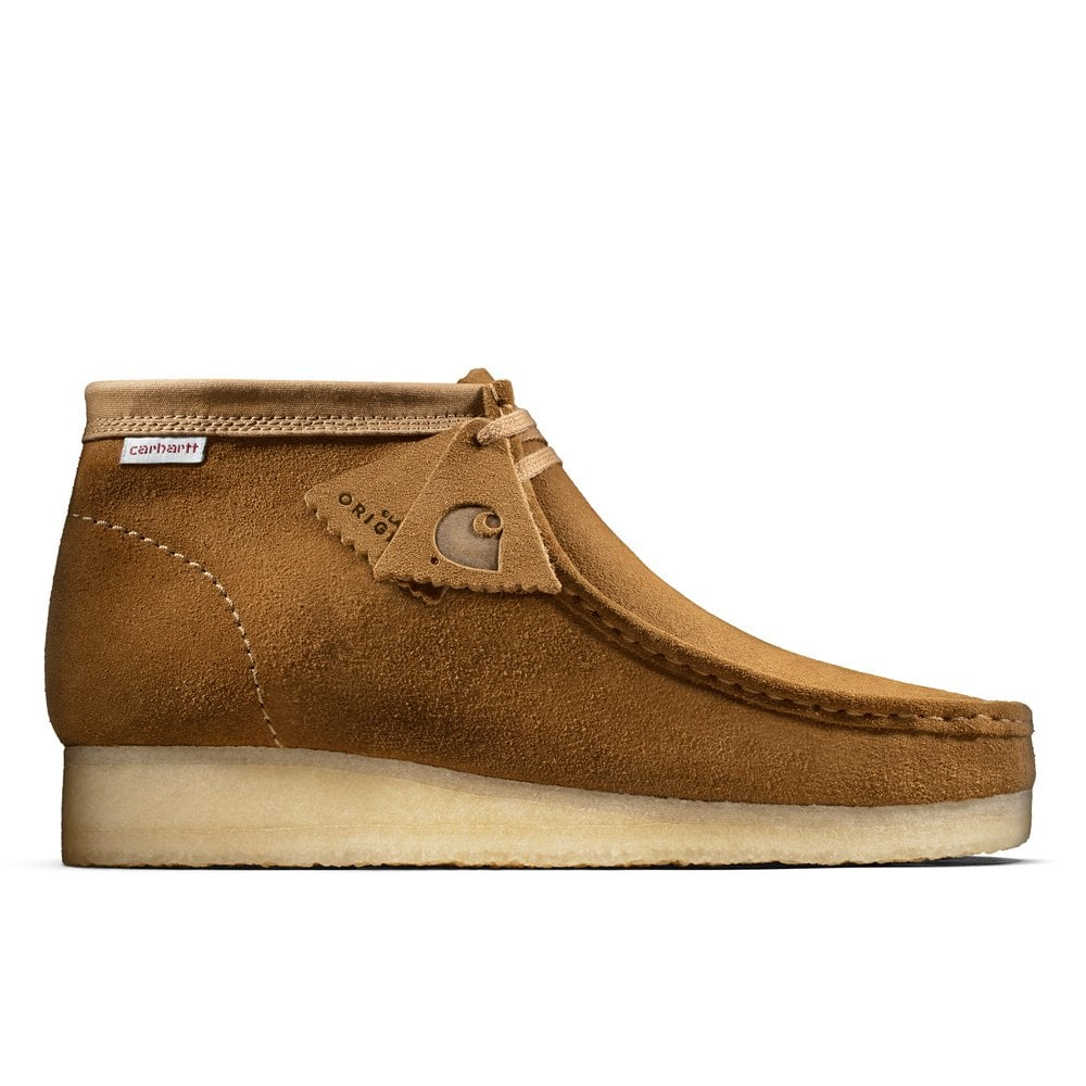 Clarks Originals X Carhartt WIP  Wallabee Boot - Hamilton Brown