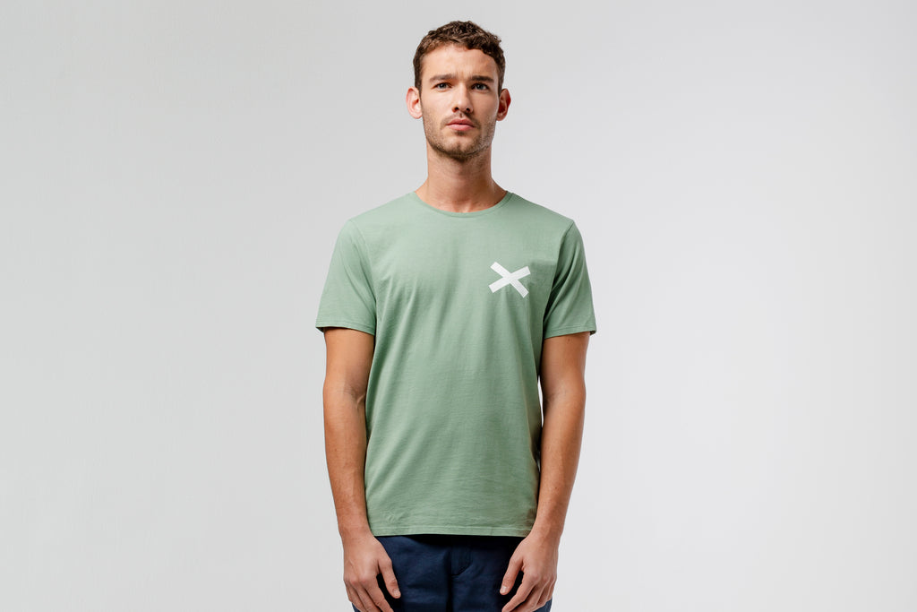 Edmmond Studios Cross T-Shirt - Green