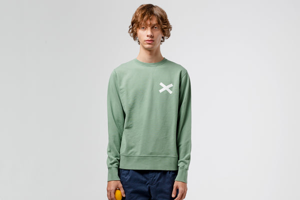 Edmmond Studios Cross Sweatshirt - Green