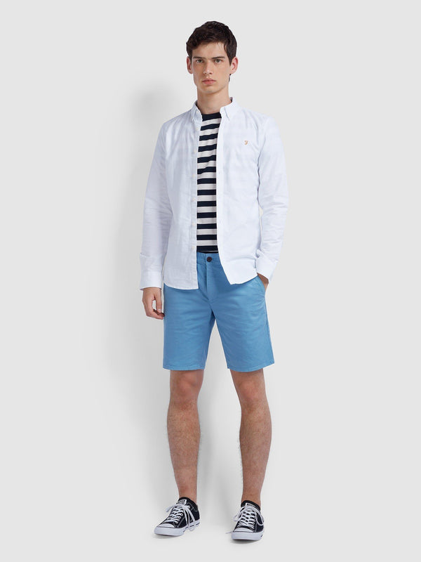 Farah Hawk Chino Short - Moonstone