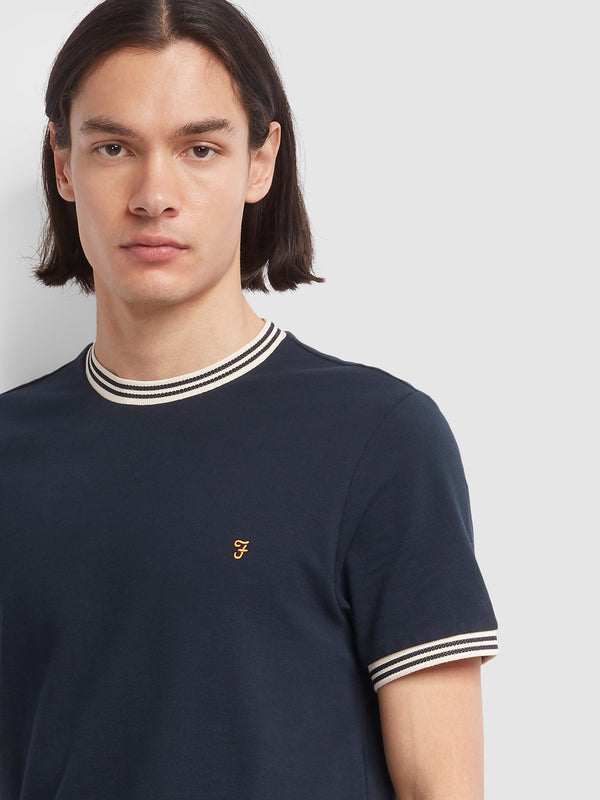 Farah Texas T-Shirt - Navy