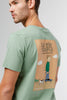 Edmmond Studios La Vie Simple T-Shirt - Green