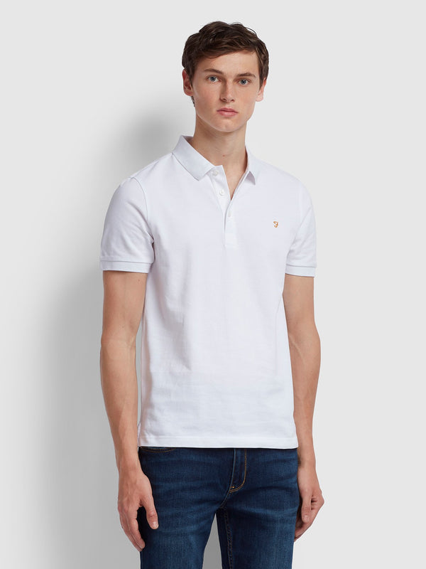 Farah Blanes Polo Shirt - White