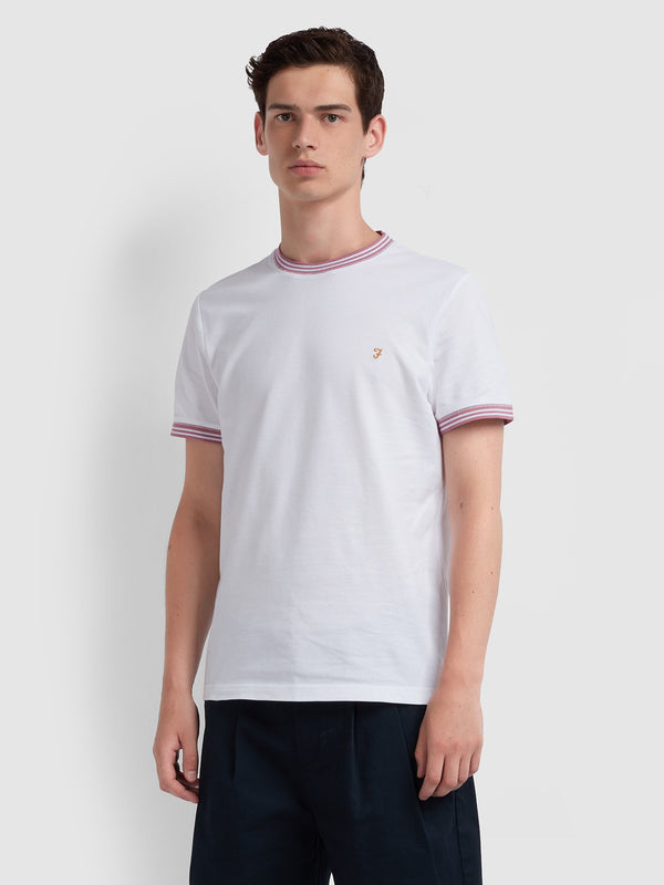 Farah Texas T-Shirt - White