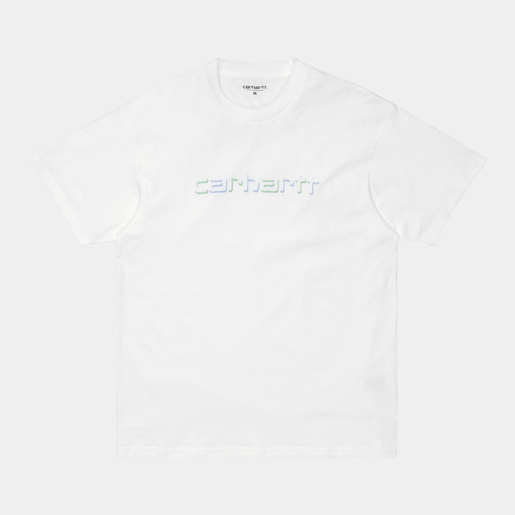 Carhartt WIP Shadow Script T-Shirt - White
