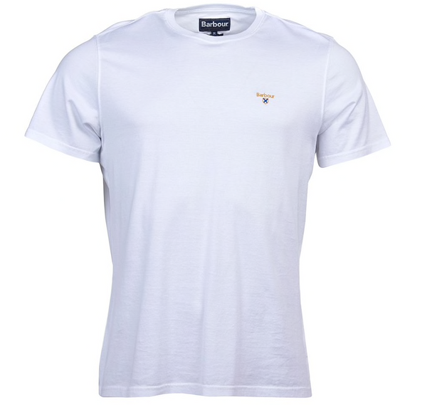 Barbour Saltire T-Shirt - White