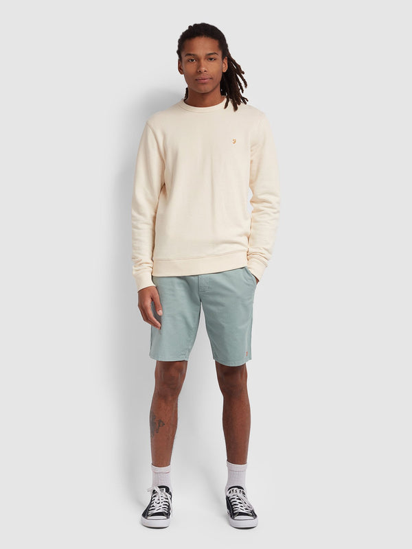 Farah Hawk Chino Short - Green Mist