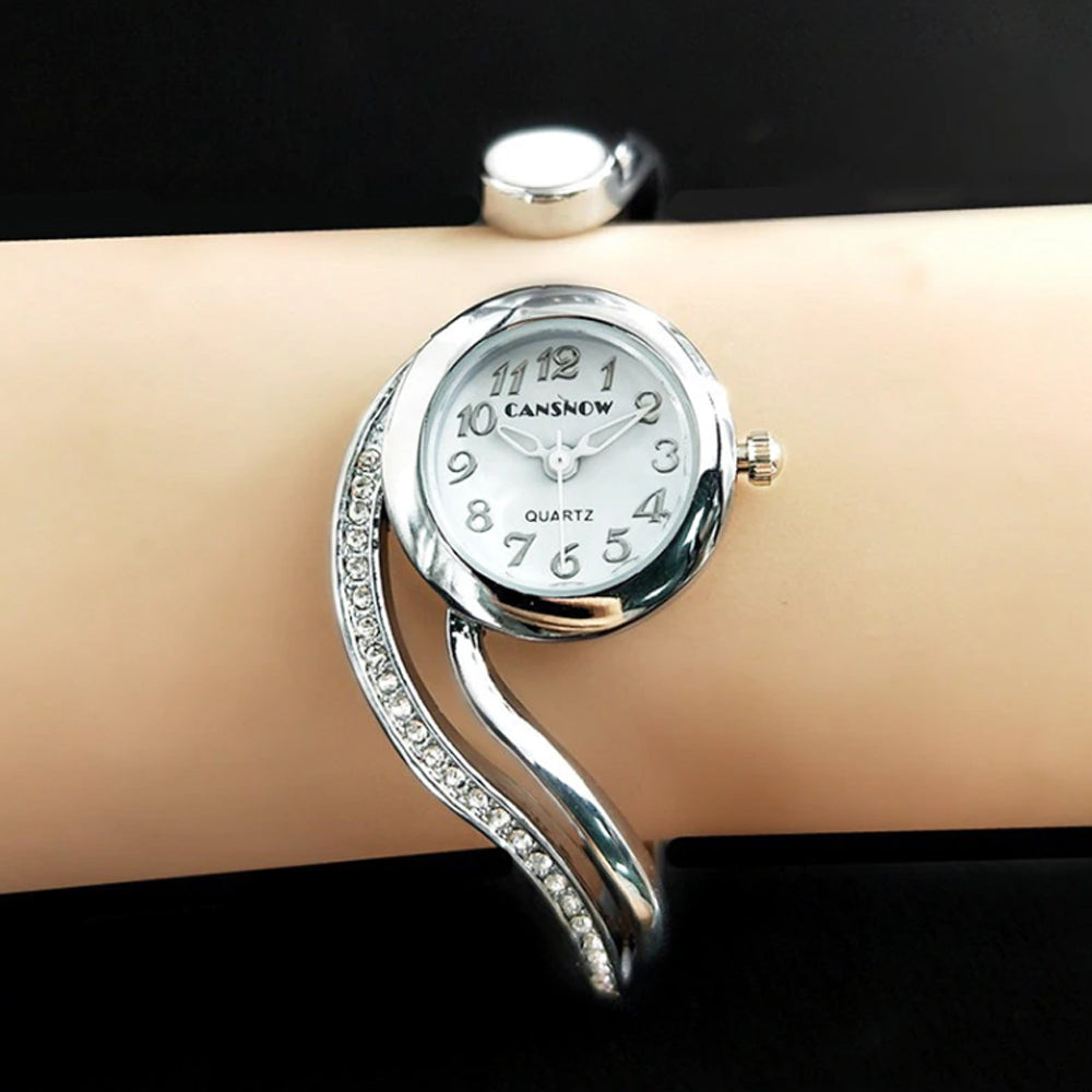 Luxury Stainless Steel Bracelet Watch