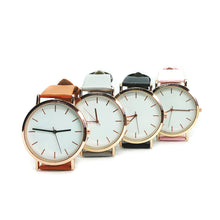 Maelle's Modern Leather Unisex Watch