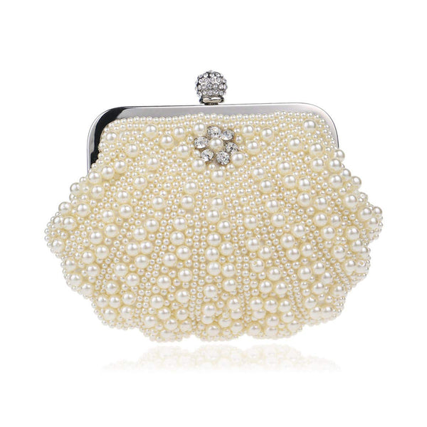 Oyster-Alike Evening Hand Clutch
