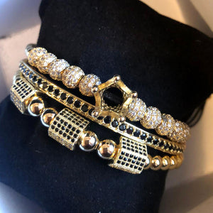 Crystal Crown King Bracelet