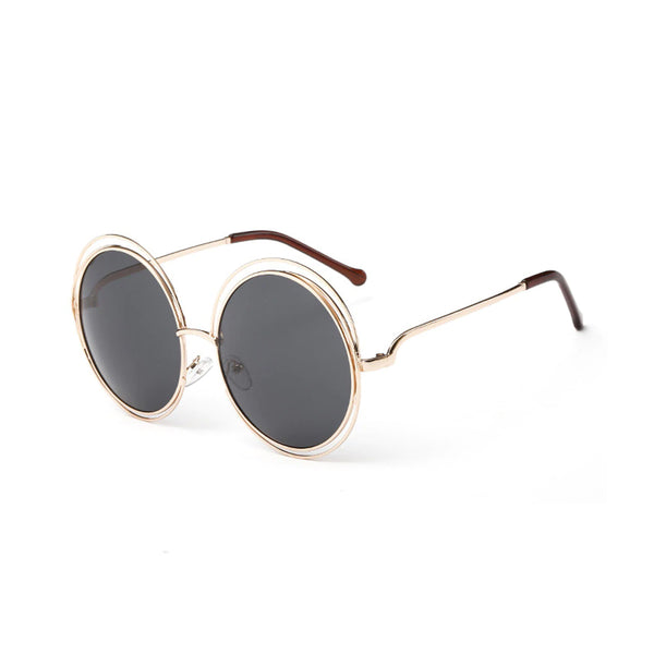 Retro-Pick Large Round Sunglasses
