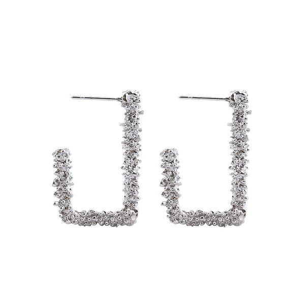 Punk Style Statement Stud Earrings